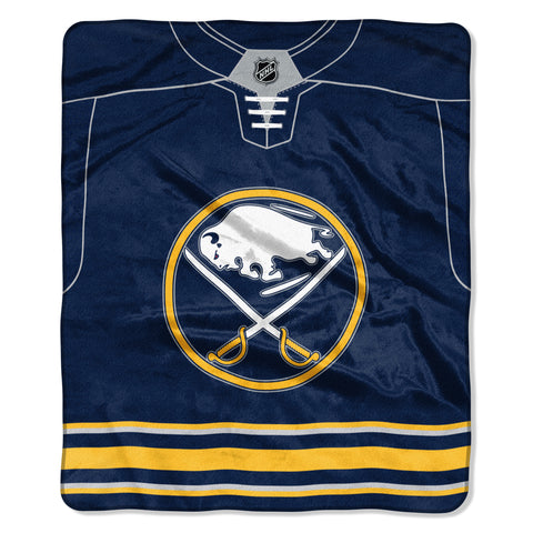 Buffalo Sabres Jersey Royal Plush