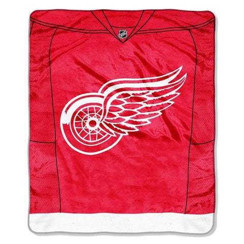 Detroit Red Wings Jersey Royal Plush