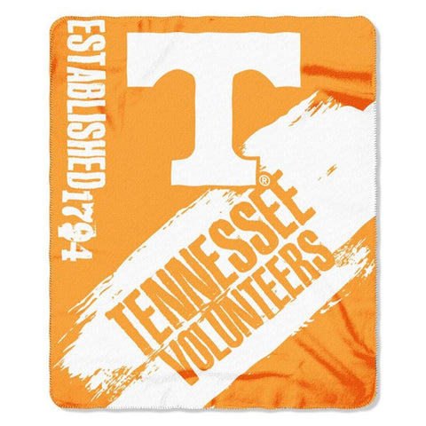 Tennessee Volunteers Painted Fleece Throw