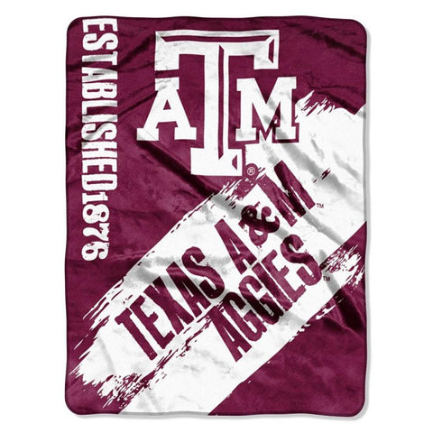 Texas A&M Aggies Painted Fleece Throw
