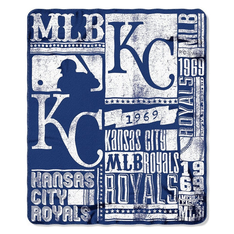 Kansas City Royals Strength Fleece Throw