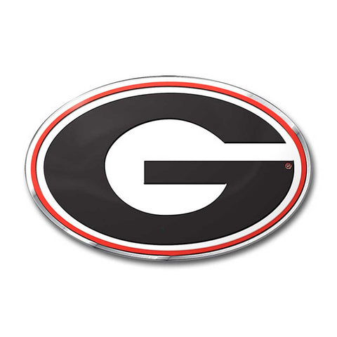 Georgia Bulldogs Auto Emblem Color