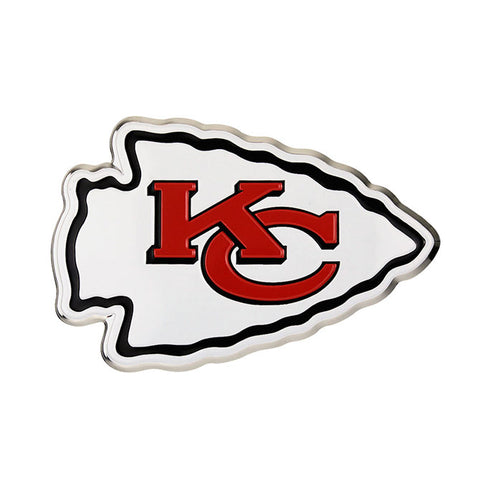 Kansas City Chiefs Auto Emblem Color