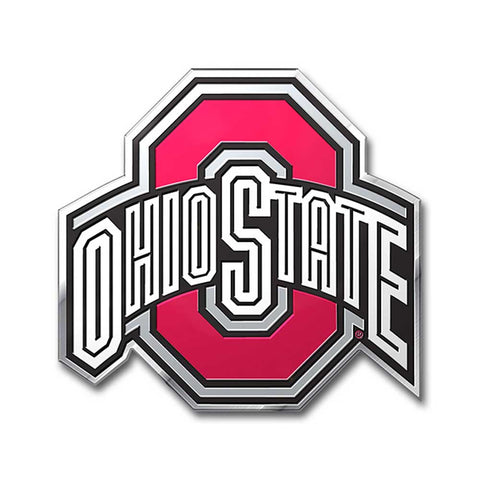 Ohio State Buckeyes Auto Emblem Color