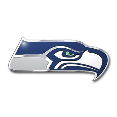 Seattle Seahawks Auto Emblem Color
