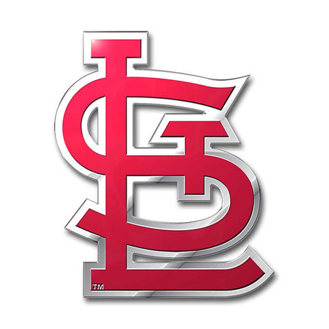 St. Louis Cardinals Auto Emblem Color