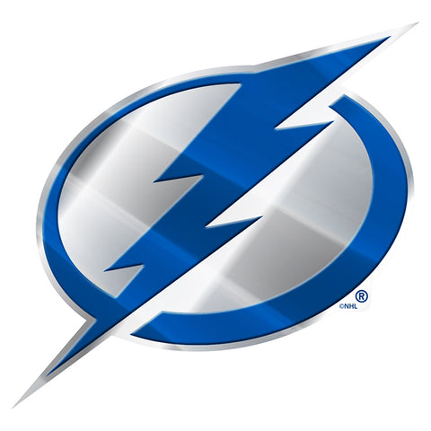 Tampa Bay Lightning Auto Emblem Color