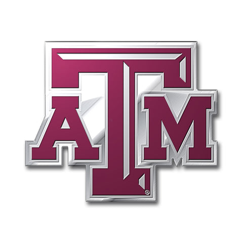 Texas A&M Aggies Auto Emblem Color