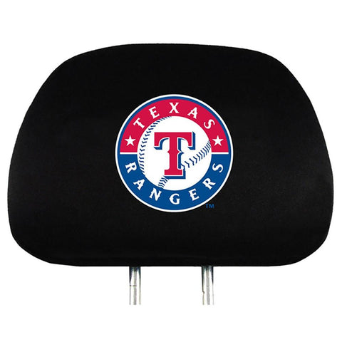 Texas Rangers Head Rest Cover