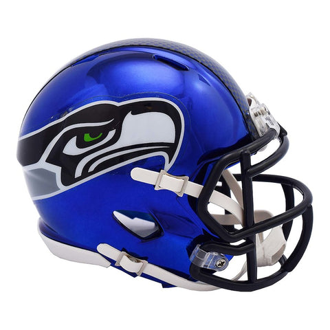 Seattle Seahawks Alternate Chrome Mini Helmet