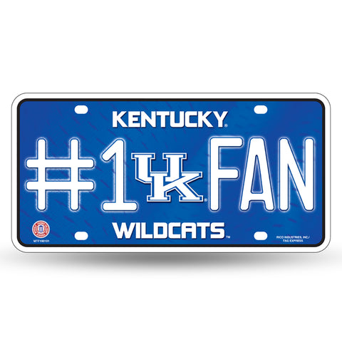 Kentucky Wildcats # 1 Fan License Plate