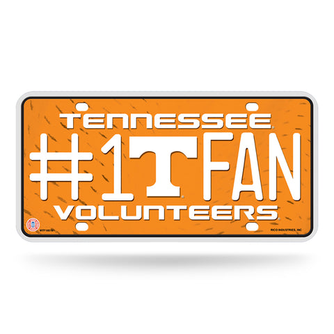 Tennessee Volunteers # 1 Fan License Plate
