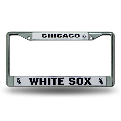 Chicago White Sox Chrome License Frame S