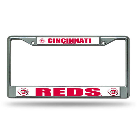 Cincinnati Reds Chrome License Frame S
