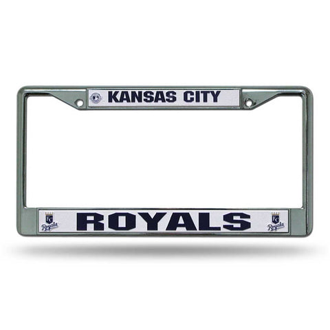 Kansas City Royals Chrome License Frame S