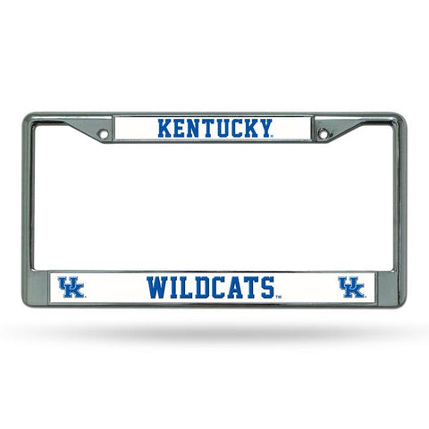 Kentucky Wildcats Chrome License Frame S