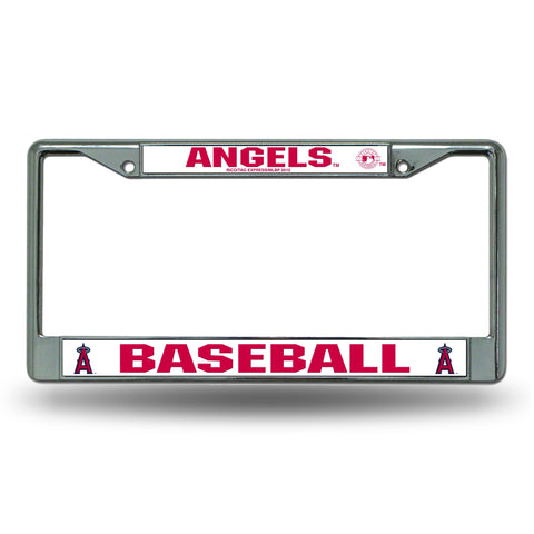 Los Angeles Angels Chrome License Frame S