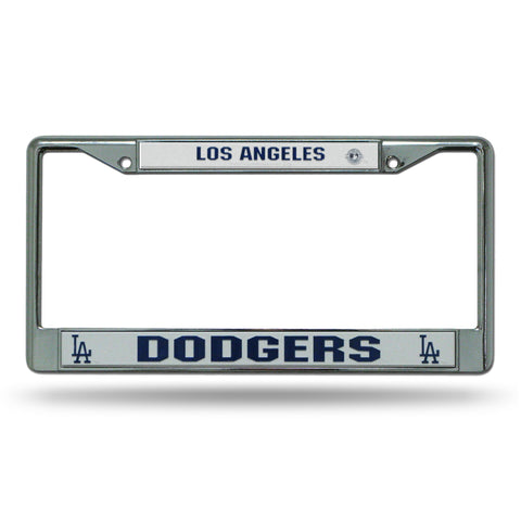 Los Angeles Dodgers Chrome License Frame S