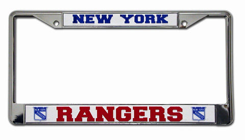 New York Rangers Chrome License Frame S