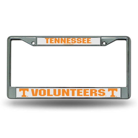 Tennessee Volunteers Chrome License Frame S