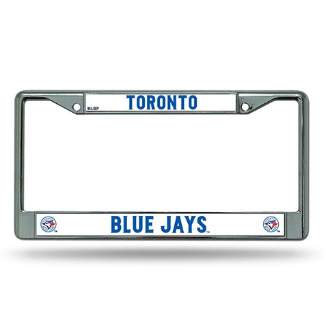 Toronto Blue Jays Chrome License Frame S