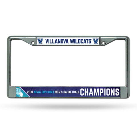 Villanova Wildcats 2018 NCAA Men's Basketball Champions Chrome Frame
