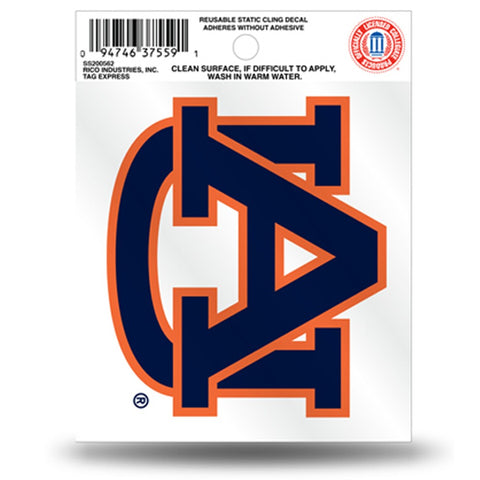 Auburn Tigers Small Static Cling