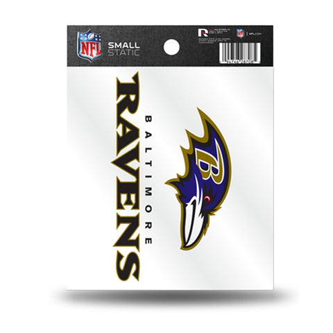 Baltimore Ravens Small Static Cling