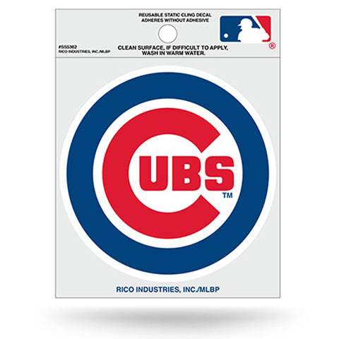 Chicago Cubs Small Static Cling