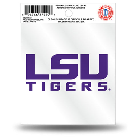 LSU Tigers Small Static Cling