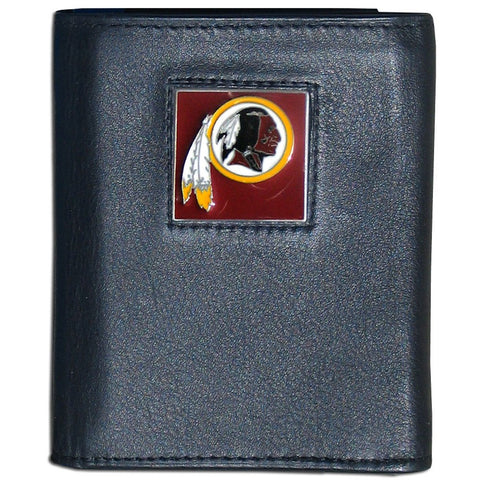 Washington Redskins FineGrain Leather Wallet