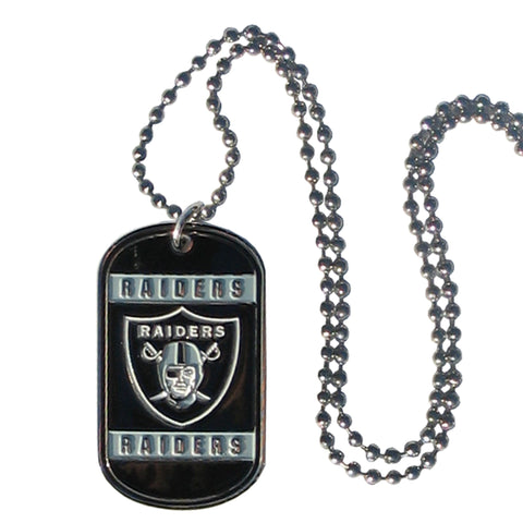 Oakland Raiders Neck Tag