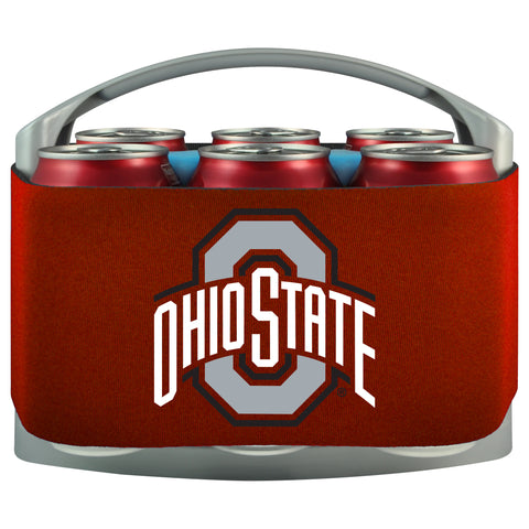 Ohio State Buckeyes 6 Pack Can Coolie