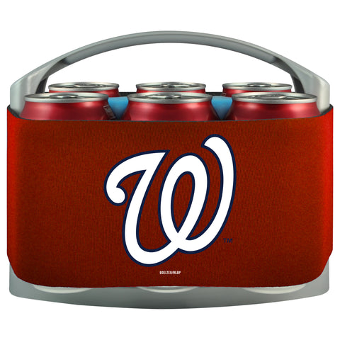 Washington Nationals 6 Pack Can Coolie