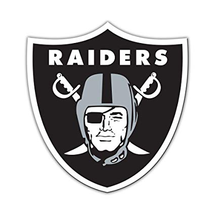 Oakland Raiders 2pc Temporary Tattoo