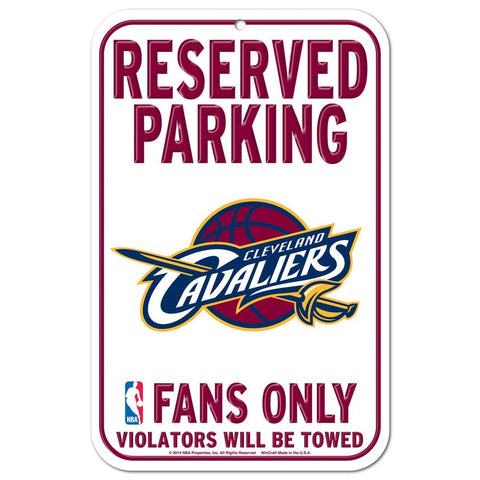 "Cleveland Cavaliers 11""x17"" Plastic Sign"