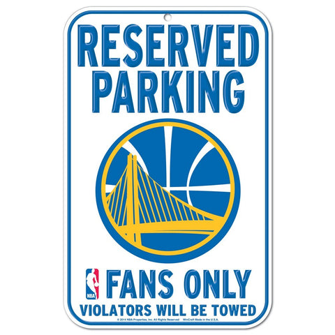"Golden State Warriors 11""x17"" Plastic Sign"