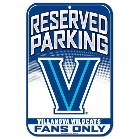 "Villanova Wildcats 11""x17"" Plastic Sign"