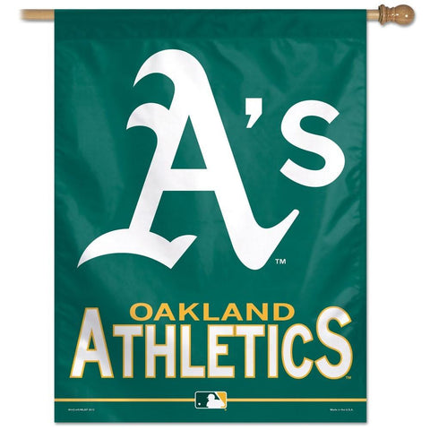 Oakland Athletics 27x37 Vertical Flags