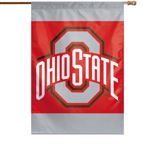 Ohio State Buckeyes 27x37 Vertical Flags