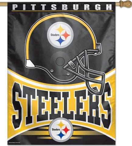 Pittsburgh Steelers 27x37 Vertical Flags