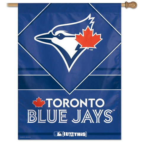 Toronto Blue Jays 27x37 Vertical Flags