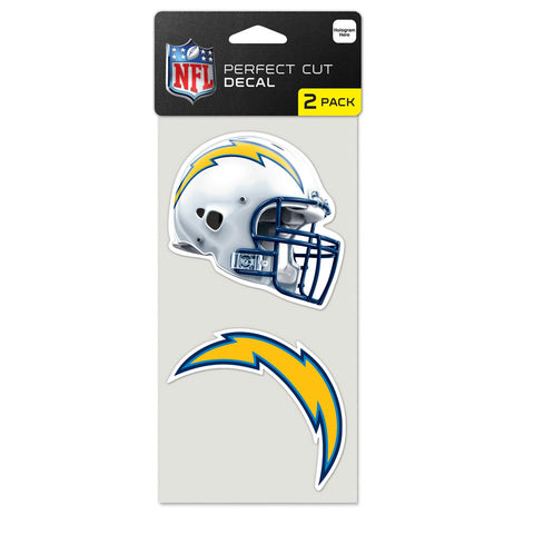 Los Angeles Chargers 2 Pk Color Decal Set