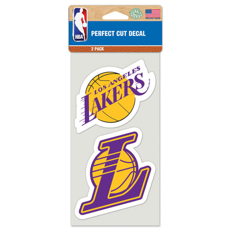 Los Angeles Lakers 2 Pk Color Decal Set