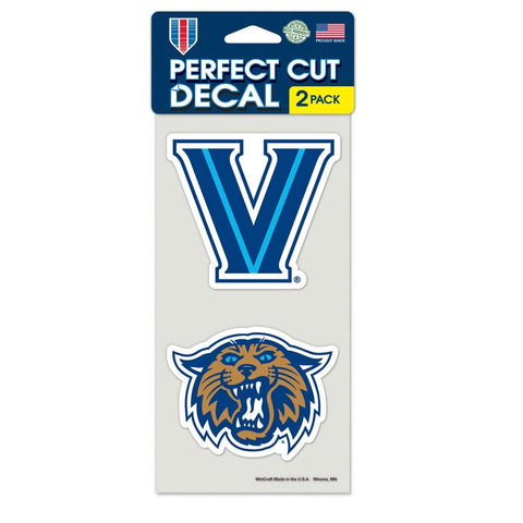 Villanova Wildcats 2 Pk Color Decal Set