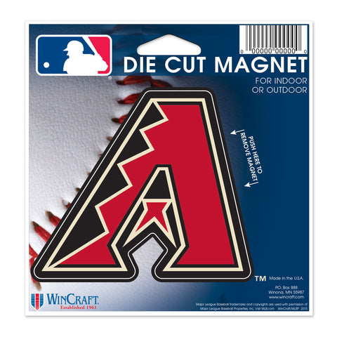 "Arizona Diamondbacks 4.5"" DieCut Logo Magnet"