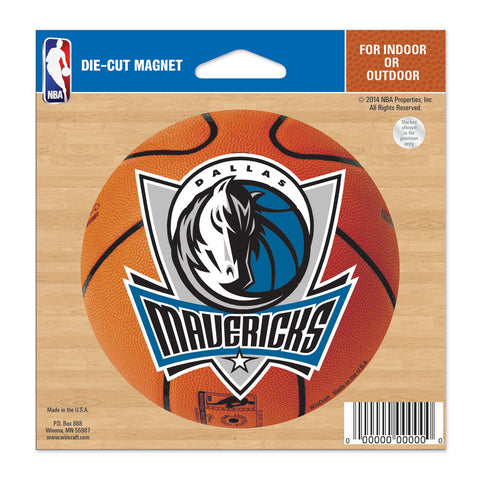 "Dallas Mavericks 4.5"" DieCut Logo Magnet"
