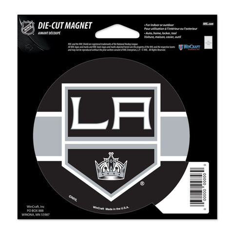 "Los Angeles Kings 4.5"" DieCut Logo Magnet"