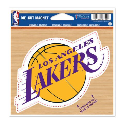 "Los Angeles Lakers 4.5"" DieCut Logo Magnet"