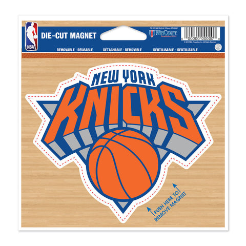 "New York Knicks 4.5"" DieCut Logo Magnet"